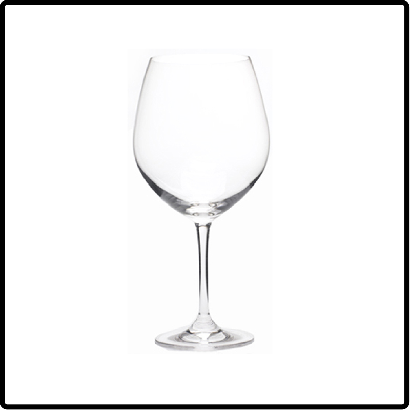 Crystal Red Wine Glass, 26oz Pinot Noir/Burgundy Glass